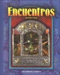 Encuentros: Segundo Curso by Holt Rinehart & Winston - Hardcover - 1997-02-03 - from Books Express (SKU: 003095164Xn)