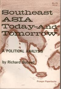 image of Southeast Asia Today And Tomorrow : Political Analysis