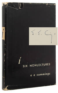Six Nonlectures by  E.E Cummings - Signed First Edition - 1953 - from James Cummins Bookseller (SKU: 311968)