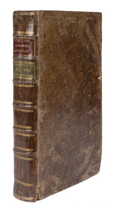 Alphabetum Juridicum, Canonicum,...