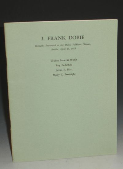 Austin, Texas: Privately Printed, 1964. First Edition. Octavo. Limited to 250 copies. pp. A sort of ...