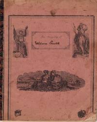 Webster G. Smith's Civil War Era Childhood School Manuscript Notebook, Penmanship, with Johnny Comes Marching Home
