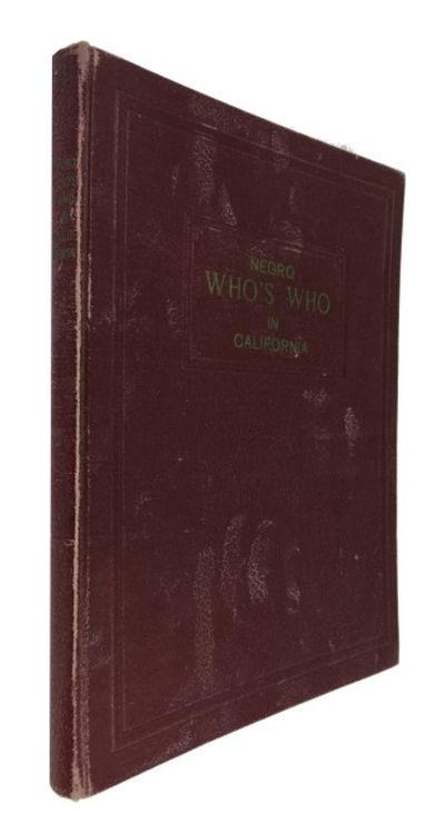 n.p., 1948. Hardcover. Good. photos, index, 133p. Original red cloth. 29cm. Extensive, mostly light,...
