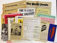 ABOUT FIFTY PAMPHLETS, BROADSIDES, NEWSPAPERS, MIMEOGRAPHED POLITICAL CAMPAIGN DOCUMENTS FROM THE SOCIALIST LABOR AND SOCIALIST WORKERS PARTIES IN THE BAY AREA DURING THE 1960'S AND 1970'S