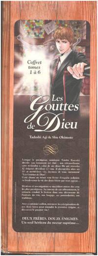 image of Les Gouttes de Dieu - Coffret Tomes 01 à 06: Le testament et le premier apôtre