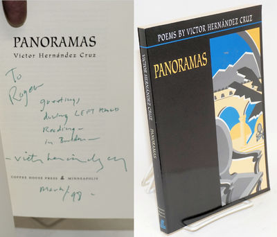 Minneapolis: Coffee House Press, 1997. Paperback. 187p., personal inscription signed by the poet, te...