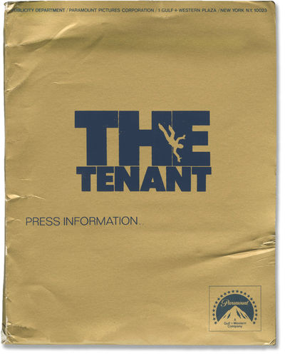 Hollywood: Paramount Pictures, 1976. Vintage press kit for the 1976 film. Included in the kit are 18...