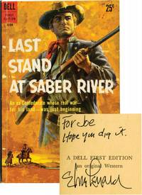 image of Last Stand at Saber River (Signed First Edition)