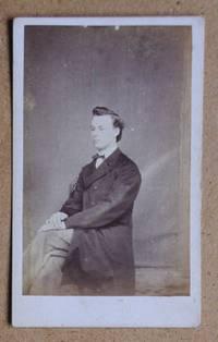 Carte De Visite Photograph: Portrait of a Seated Young Man.