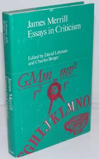image of James Merrill: essays in criticism