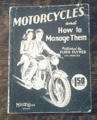 image of Motorcycles and How to Manage Them (29th Edition)