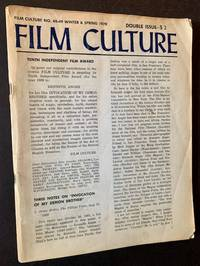 Film Culture #48-49 (Winter and Spring 1970) -- Double Issue