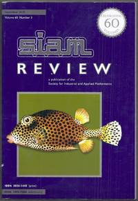 Siam Review. A publication of the Society for Industrial and Applied Mathematics.  September 2018, Volume 60, Number 3