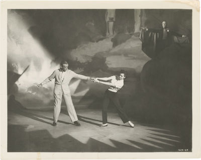 N.p.: N.p., 1953. Vintage reference photograph of Fred Astaire and Cyd Charisse, with Jack Buchanan ...