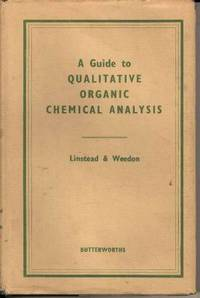 A Guide to Qualitative Organic Chemical Analysis