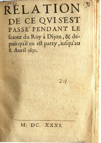Authorship is attributed to Richelieu, Armand Jean du Plessis, duc de, 1585-1642 by Lindsay et Neu 5...
