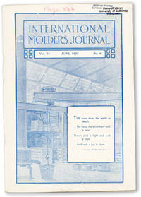 International Molders Journal. Vol. 73, no. 6 (June, 1937)