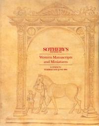 Sale 21 June 1994: Western MSS and Miniatures.