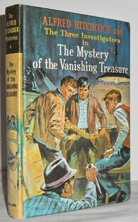 Alfred Hitchcock and the three investigators in The mystery of the vanishing treasure no 5