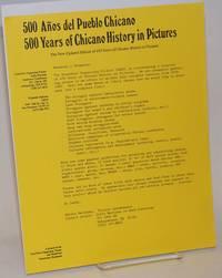 500 Anos del Pueblo Chicano [handbill]
