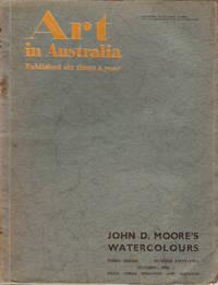 Art in Australia. Third Series Number 52 - John D. Moore's Watercolours