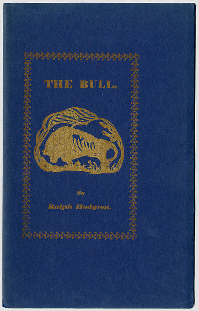 Westminster: Printed by A.T. Stevens for Flying Fame, 1913. Blue wrappers, stamped in gilt. Illustra...
