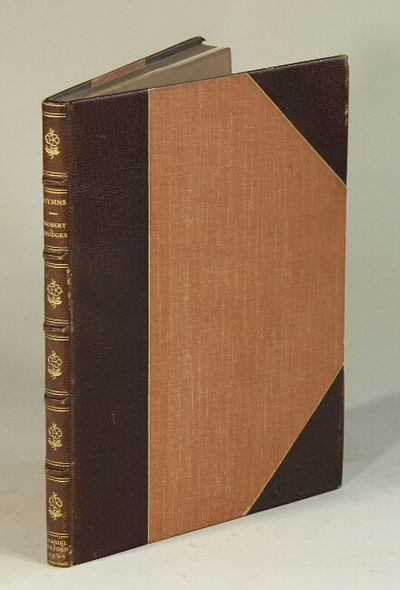 , 62, ; original gray blue printed wrappers bound in three-quarter brown goat, gilt-decorated spine ...