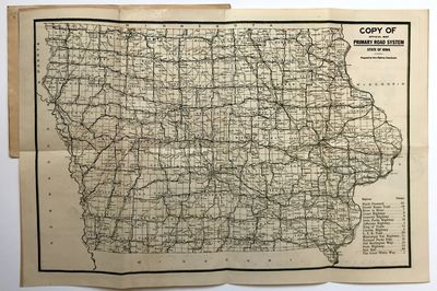 Waterloo, Ia, 1925. Very good.. Folding map, 11.5 x 17.5 inches, in a printed card cover, 6.25 x 4.7...