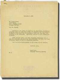 image of Archive of letters from the Hal Roach Studios relating to