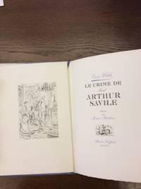 LE CRIME DE LORD ARTHUR SAVILE. by WILDE Oscar - 1946. - from Libreria Malavasi sas and Biblio.com