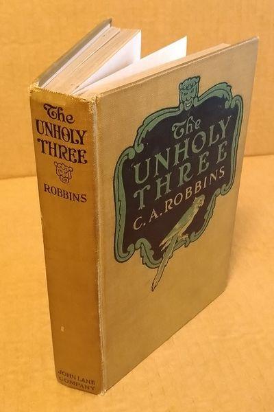 New York: John Lane Company, 1917. First. Octavo; Fair+ hardcover; greenish-brown spine, black text;...