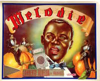 image of Melodie [orange crate label featuring an African American jazz band]