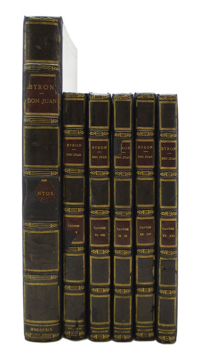 First Edition of Byron's Finest Long Poem, Handsomely Bound by Zaehnsdorf BYRON, George Gordon, Lord...