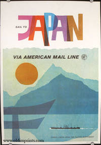 Sail to Japan Via American Mail Line. Cargo Liners From the Pacific Northwest