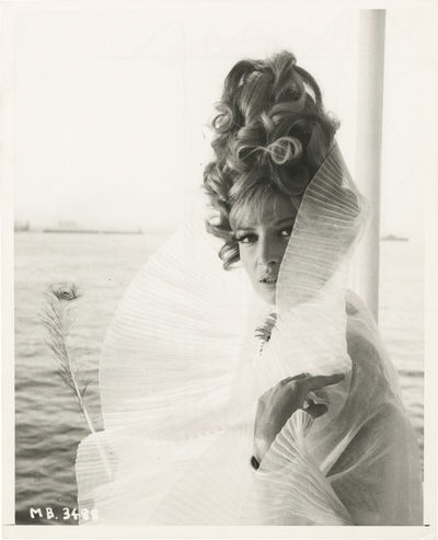 N.p.: N.p., 1966. Two vintage reference photographs of Monica Vitti from the 1966 film. One with cro...