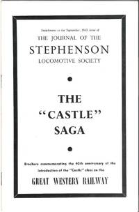"""The """"Castle"""" Saga: Brochure commemorating the 40th Anniversary of the Introduction of..."""