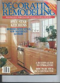 Deorating Remodeling Magazine  May 1988