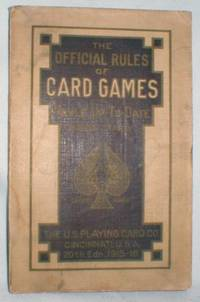 image of The Official Rules of Card Games; Hoyle Up-to-date 1915-1916