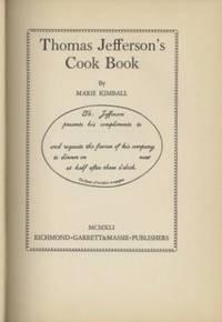 Thomas Jefferson's Cook Book