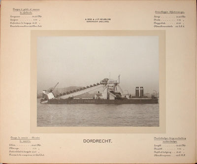 Portfolio of photographs, , (55) cards on which are mounted a total of (58) photographs, with (1) fu...