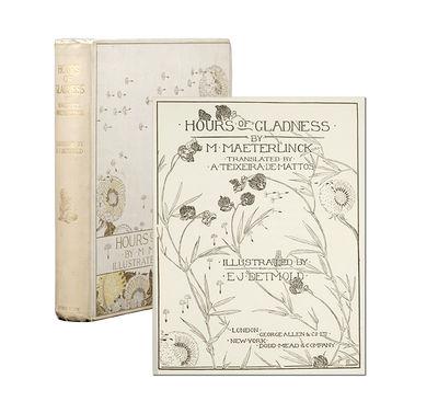 London: George Allen & Co, 1912. First trade edition. Original cream-colored cloth. Front cover lett...