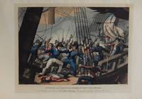 Boarding and Taking the American Ship Chesapeake, by the Officers and Crew of H.M. Ship Shannon, Commanded by Capt. Broke, June 1813