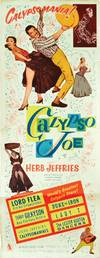 Calypso Joe (Original poster for the 1957 film) by  Herb Jeffries (starring)  screenwriter); Mildred Dein (screenwriter); Angie Dickinson - 1957 - from Royal Books, Inc. and Biblio.co.uk