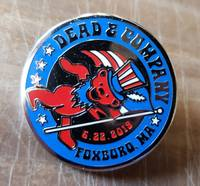 Dead and Company - 2019 - Tour Pin - Foxboro, MA (Gillette Stadium)