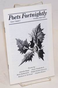 image of Poets Fortnightly, Volume 1 Number 2; [featuring:] The Truth about Spiders... Lizzie Borden Remembered... Peculiar Ads & Announcements