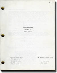 Act of Vengeance (Original screenplay for the 1986 television film)