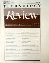 Technology in Review Vol. II, Summer 1998: A Periodic Journal Published for the Technical...