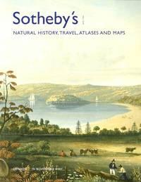Natural History, Travel, Atlases and Maps (London, November 15, 2007)
