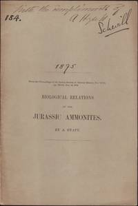 """image of Abstract of a Memoir on """"BIOLOGICAL RELATIONS OF THE JURASSIC AMMONITES"""". From the Proceedings of the Boston Society of Natural History, Vol. 17, Dec 16, 1874"""