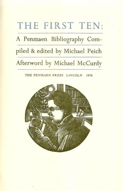 Lincoln, MA: Penmaen Press, 1978. First Edition. Hardcover. Spine a bit sunned. Near Fine in a Near ...